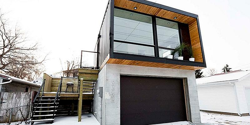 дом над гаражом своими руками