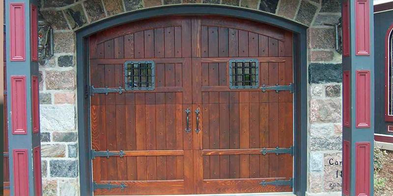 гаражные двери своими руками