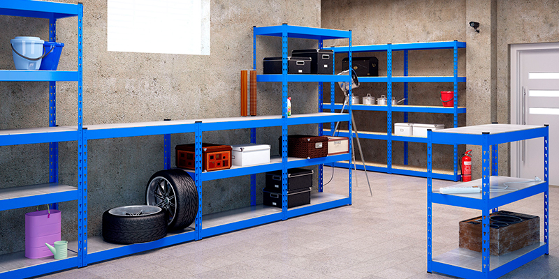 виды стеллажей для гаража