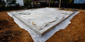 время высыхания бетона в фундаменте